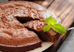کیک اسفنجی تابه ای
