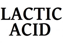 اسید لاکتیک