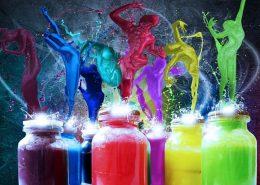 انرژی رنگ ها