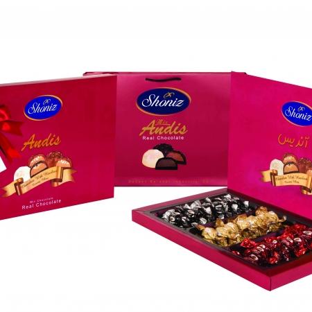 شکلات آندیس کادویی روباندار