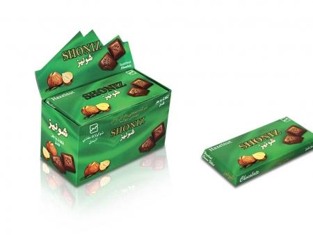 شکلات فندقی شونیز 100