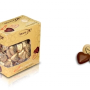 شکلات قلب شیری فله