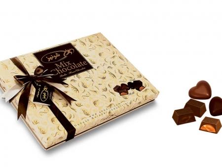 شکلات میکس فارلین ، قلب تلخ و شیری