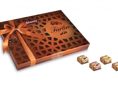 شکلات فارلین کادویی روباندار