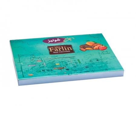 شکلات فارلین میوه ای کادویی روباندار
