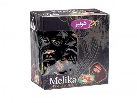 شکلات ملیکا تلخ فله پنجره دار