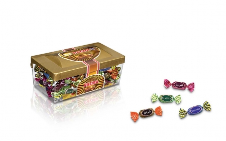 شکلات پذیرا کریستال کوچک
