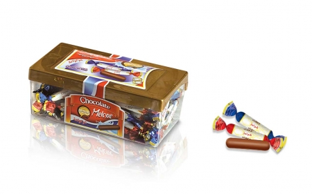 شکلات ملونه کریستال