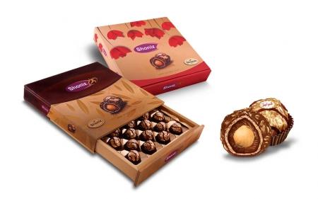 شکلات شونیز طلائی فلاور