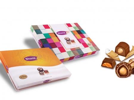 شکلات شونیز طلائی میکس کادوئی