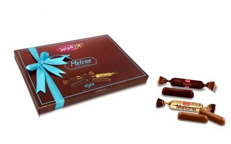 شکلات ملونه میکس روباندار