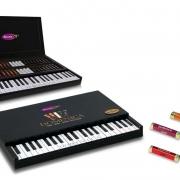 شکلات دمنیکا طرح پیانو