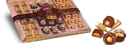 شکلات میکس کریستال