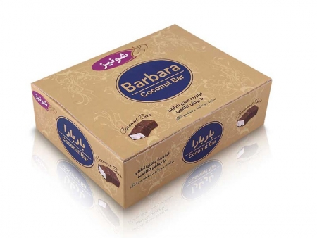 شکلات نارگیلی مینی باربارا فله