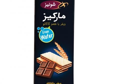 ویفر پذیرایی مانژ با طعم کاکائو