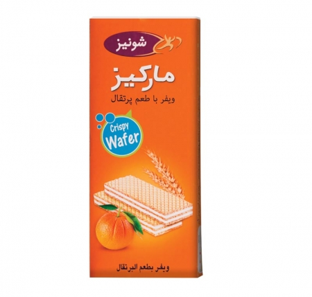 ویفر پذیرایی مانژ با طعم پرتقال
