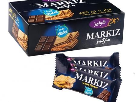 ویفر بالشی مارکیز با طعم کاکائو
