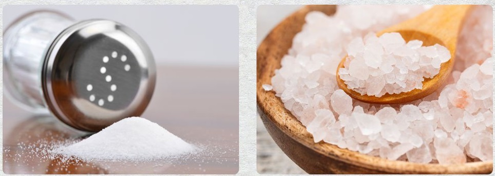 نمک دریا به جای نمک طعام