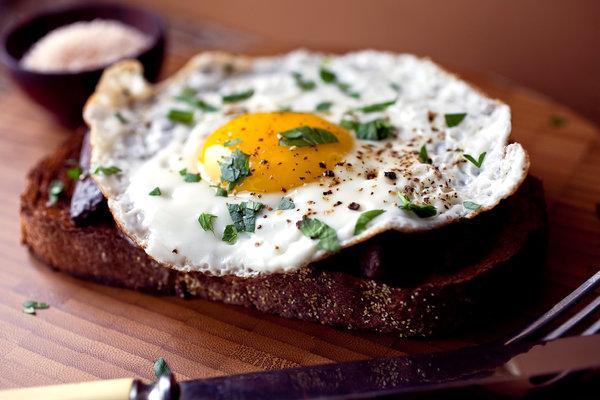 سحری با تخم مرغ