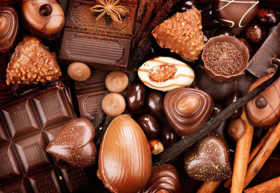 فواید ناشناخته ی شکلات