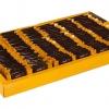 شکلات مربع دوسرپرس نیم کیلویی