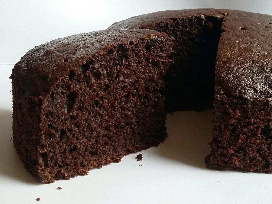 کیک کاکائویی ساده