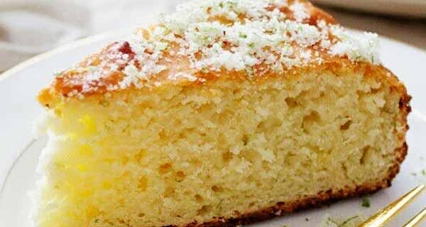 کیک بدون شیر