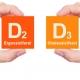 فرق ویتامین D2 با ویتامین D3