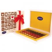شکلات قلب میکس کادوئی روباندار